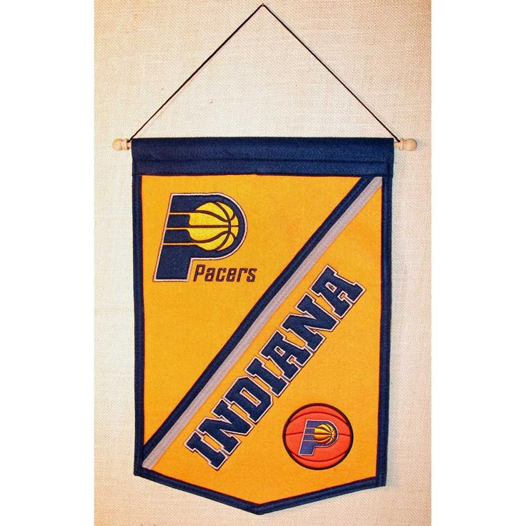 Indiana Pacers NBA Traditions Banner (12x18)