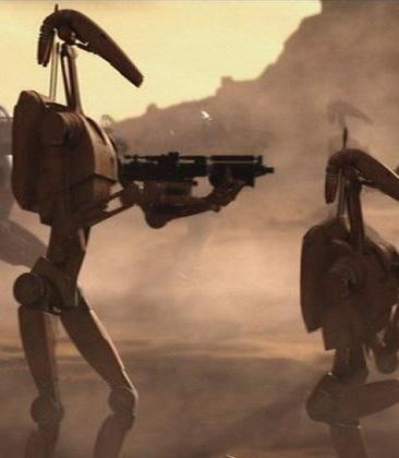 "Battle Droids ""Roger roger!"""