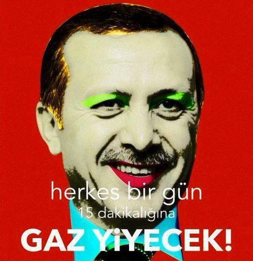 warhol style RTE popart #occupygezi #direngeziparkı #direngezi #wearegezi #occupytaksim #occupyturkey #chapulling #istanbul #Turkey