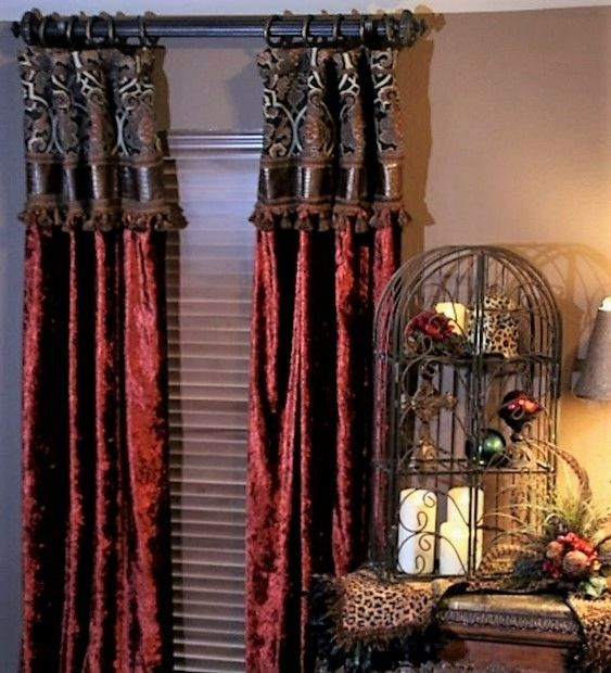 Custom Draperies for Every room in your home by Reilly-Chance Collection