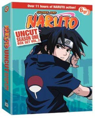 Crunchyroll - Naruto DVD Season 1 Box Set 2 Uncut