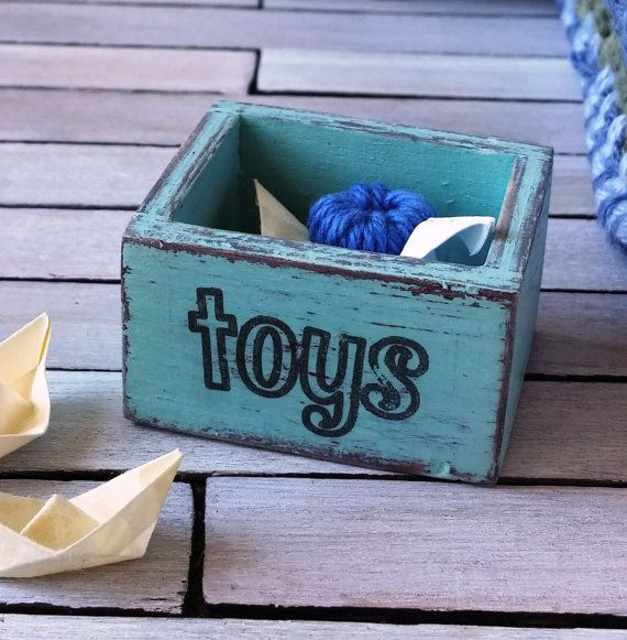 Dollhouse Miniature wooden crate toy crate  12th by DewdropMinis