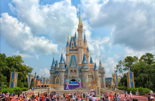 Disney World Orlando, Flordia! I've been once (when I was 7) but I wanna go again!!!