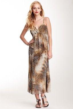 Vince Camuto Empire Waist Maxi Dress