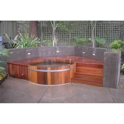 Hot Tub On Deck Ideas. Elegant Luxury Douple Deck Hot Tub ...
