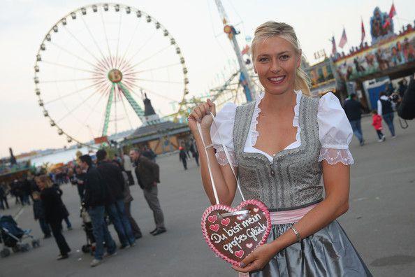 Maria Sharapova - Maria Sharapova Loves Porsche in Germany