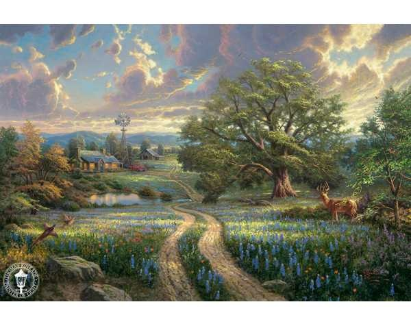 Country Living by Thomas Kinkade