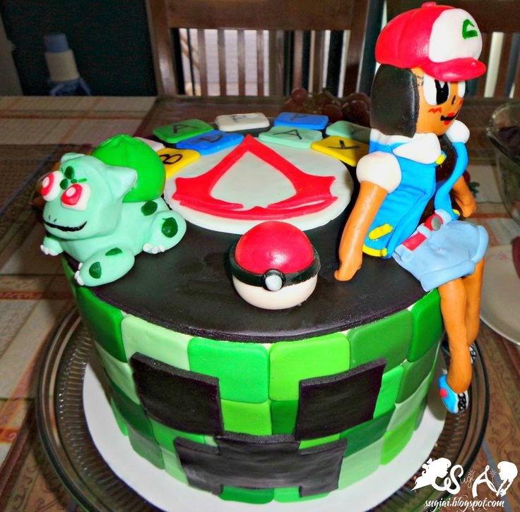 The Game Birthday Cake