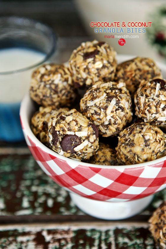 You know soft & chewy granola bars? These are like those…but rolled into cute little balls! Easy to prepare & eat no matter what you have going on… Don't you just love simple, no-bake recipes like this? Perfect for on the go, out the door snacks. Or for breakfast. I'm in NYC now for a …