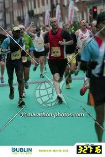Get under that 210 minutes.: Dublin Marathon race report 2012