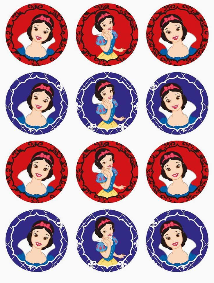 Sweet Snow White Free Printable Mini Kit. - Is it for PARTIES? Is it FREE? Is it CUTE? Has QUALITY? It´s HERE! Oh My Fiesta!