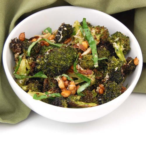 Roasted Broccoli. http://sweetpeaskitchen.com/2011/05/parmesan-roasted ...