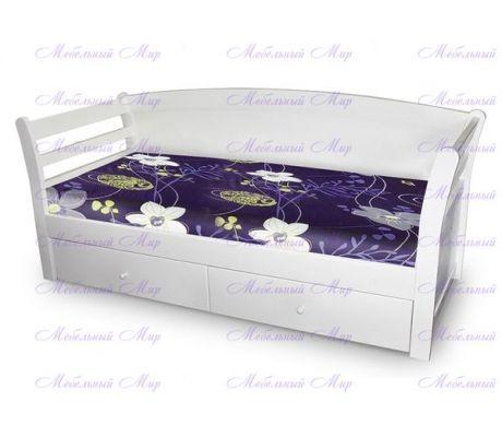 Кровать с ящиками Версаль - Купить мебель из сосны от фабрики в Москве.