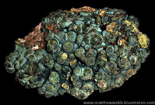 "exclusiveminerals > Chalcopyrite, Cornwall, England; c. 6"" across > Chalcopyrite"