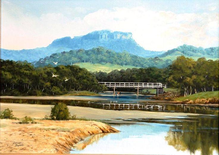 Painter Herbert Reginald Gallop (1890 - 1958) Crooked River Gerroa
