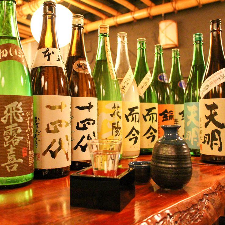 四ツ谷の日本酒時間無制限飲み放題