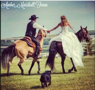 Amber Marshall wedding