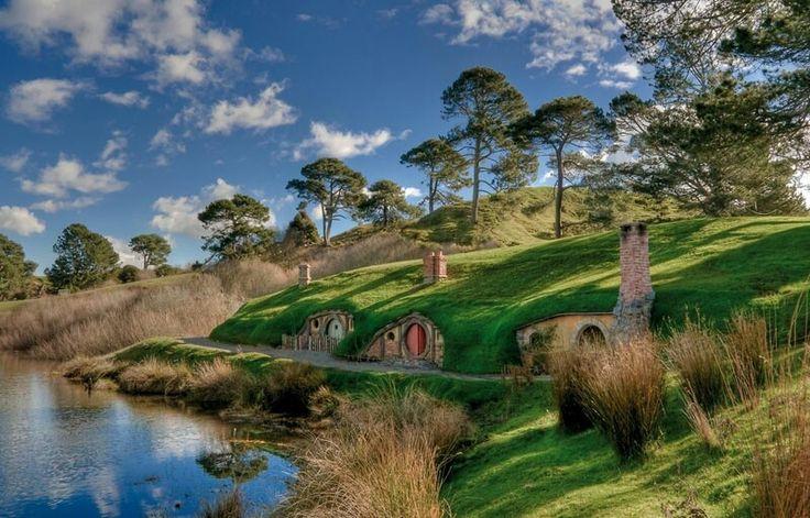 A hobbit és a gyűrűk ura helyszínek egyike