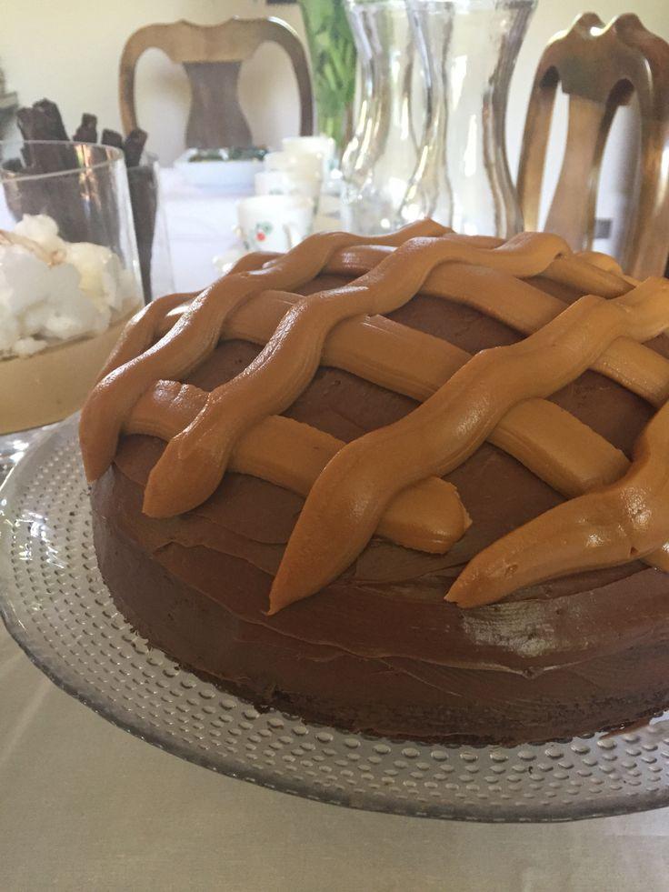 Torta chocolate manjar