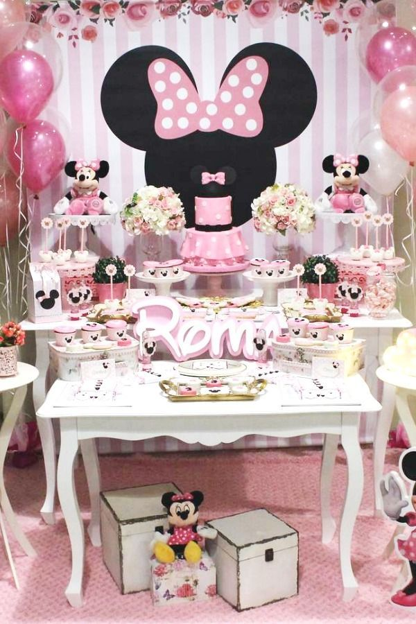 Mickey Mouse Minnie Mouse Birthday Party Ideas Minnie Mouse Birthday Party Decorations Minnie Mouse Birthday Minnie Birthday Party