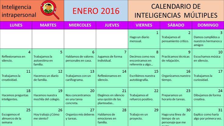 Os dejamos un calendario totalmente original que hemos preparado para trabajar las inteligencias múltiples tanto en nuestros colegios como en casa con nuestros hijos e hijas, empezamos el mes de …