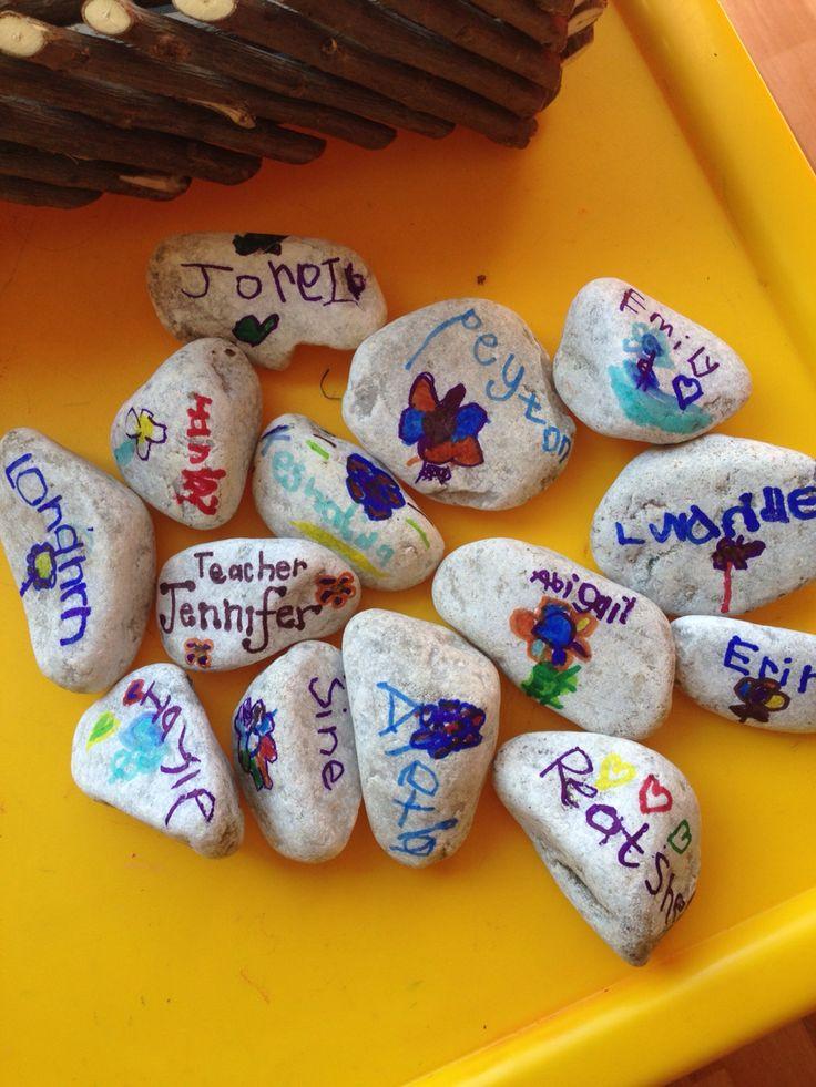 Self registration stones