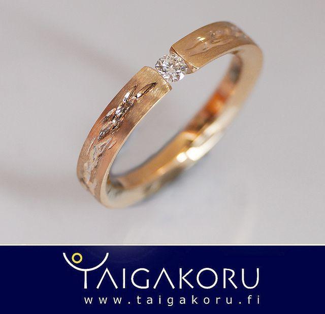 Kultasormus - Gold ring