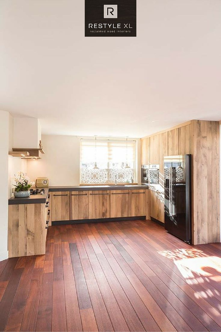 Meer dan 1000 ideeën over houten keukenkasten op pinterest   rvs ...