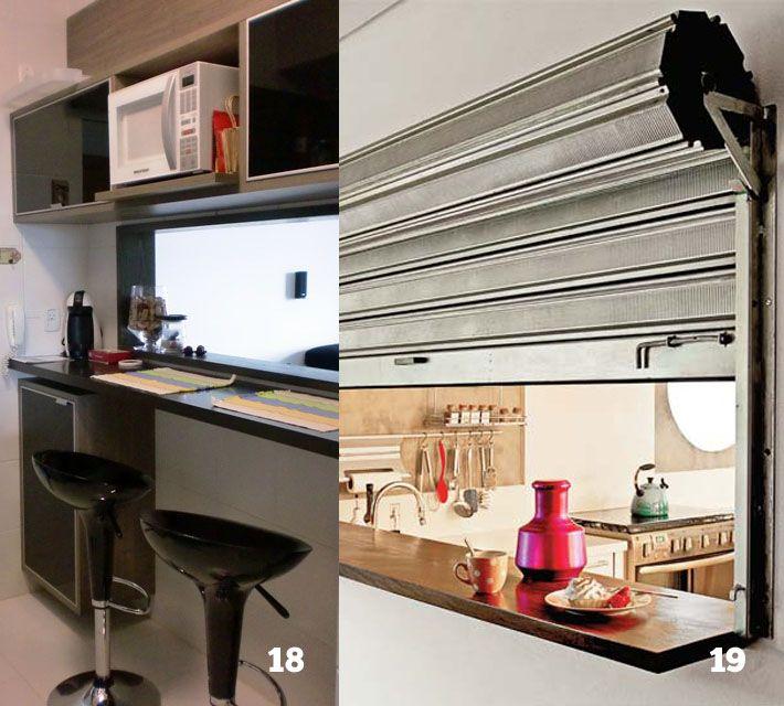 20 modelos de passa-pratos para a sua cozinha
