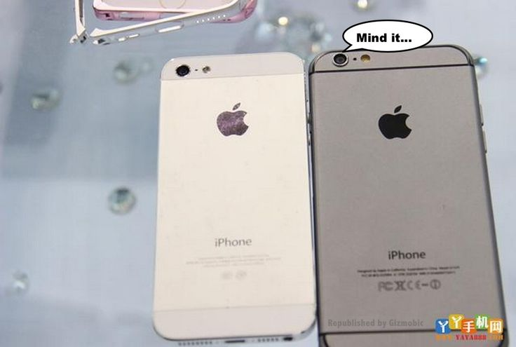 Apple iPhone 6 Leaked with iPhone 5S Side by Side