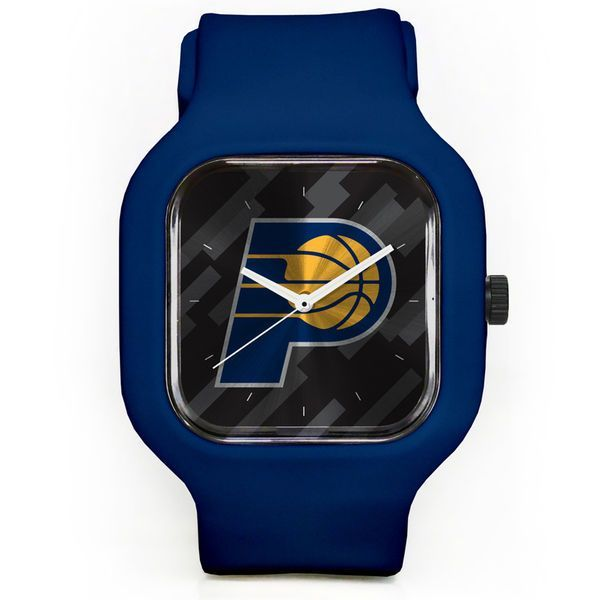 Indiana Pacers Modify Watches Unisex Silicone Watch - Navy - $49.99