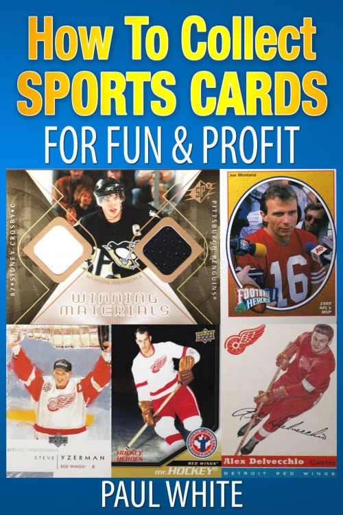 How to Collect Sports Cards for Fun & Profit: Do you enjoy this great hobby? Would you like to know how to preserve your cards so they will not be damaged? My husband wrote a book to help answer these and many more questions you may have. It will help you to achieve pleasure collecting sports cards and preserve your favorite memories. Find out more: http://amzn.to/1UprDLY