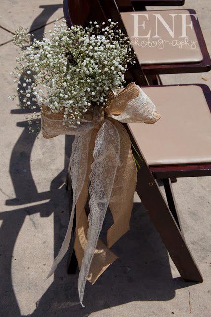 Events Not Forgotten: Wedding ceremony aisle decor.
