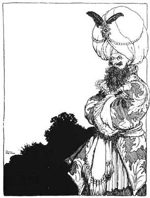 by William Heath Robinson. The subject actually breaks out