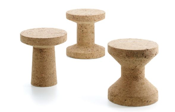 Cork beauties; UK designer Jasper Morrison. Nothing I can accomplish, but I am able to thoroughly love!