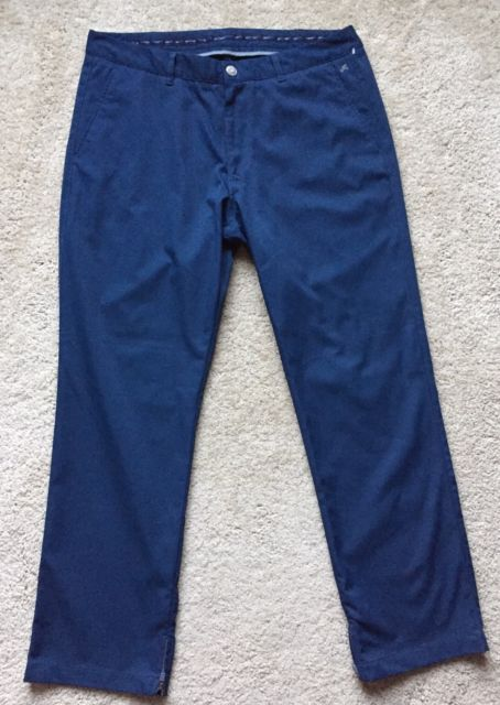 BONOBOS Maide Men's Navy Blue Pants GOLF Pants Size 35x30 LOOK NEW! | eBay