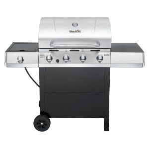 Char Broil Clic 4 Burner Gas Grill With Side Freestanding Grills