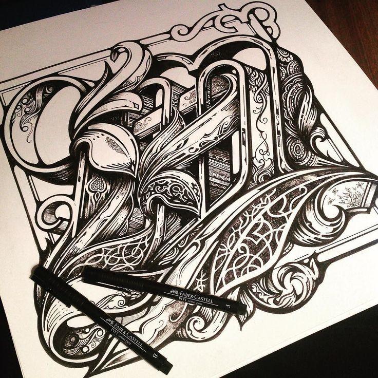 1000+ Ideas About Tattoo Lettering Alphabet On Pinterest