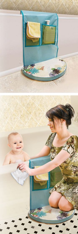 Bath time kneeling pad #product_design #baby