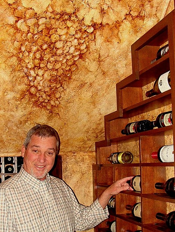 Home Wine Cellar Design Painting Entrancing Decorating Inspiration