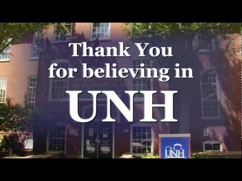 I Believe in UNH (Manchester). University of New Hampshire, Manchester Campus