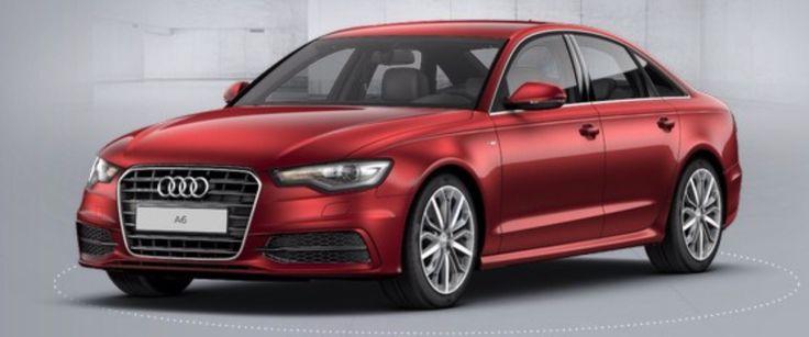 Audi A6 S Line In Garnet Red Audi A6 Pinterest Audi