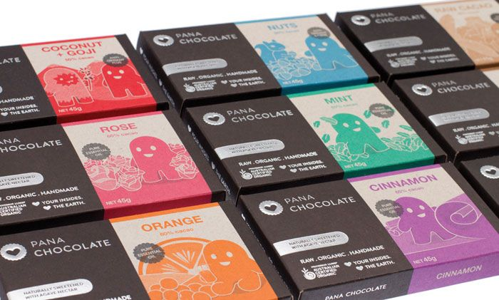 gorgeous way to appeal to those into organic or not - eco friendly: recyclable foil, soy based pantone inks, 100% recycled board