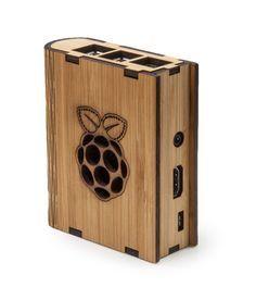 Bamboo'k for Raspberry Pi B+ (Raspberry Logo)