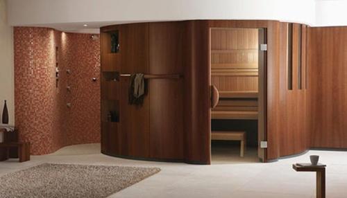 charismatic sauna interior design