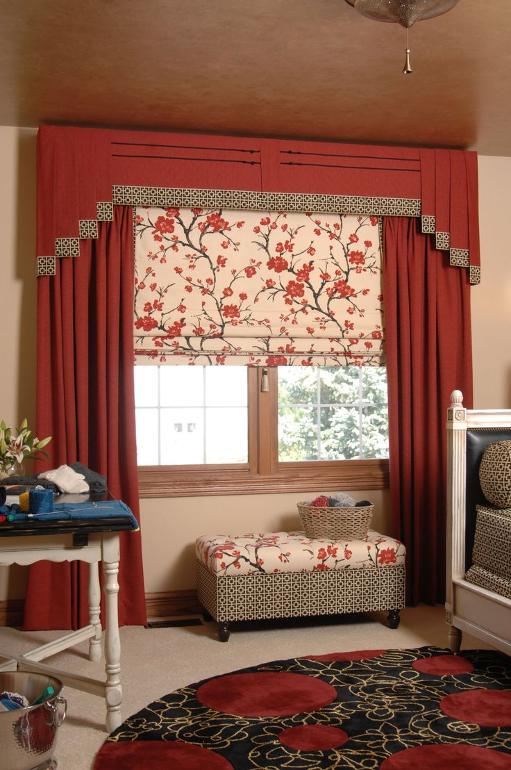 276 best Curtains - Box Pleated & Tailored Valances images on ...