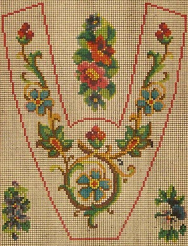 Вышивка крестом — красивые старинные схемы Petit Point. - Ярмарка Мастеров - ручная работа, handmade
