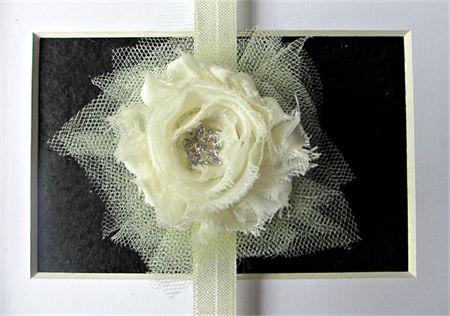 Cream Delight - Toddler/Girl Stretch headband madeit.com.au/moobearcreations