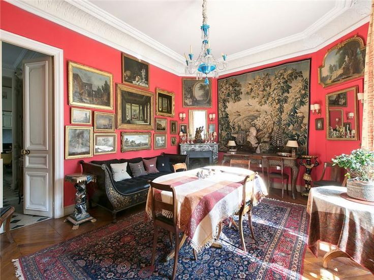 Paris Apartment Interiors | Old Paris apartment Victorian ...