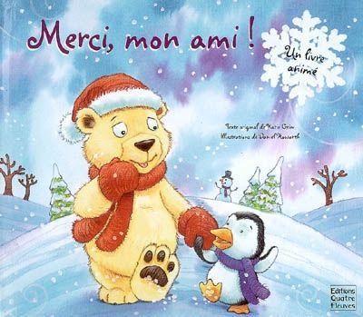 Le pingouin a besoin d'aide pour oublier sa petite taille et cheminer dans la neige. L'ours blanc a besoin d'aide pour surmonter ses peurs et découvrir les jeux d'hiver. A chaque double page, un dépliant permet d'ouvrir un pop-up. Un album sur l'amitié et l'entraide.
